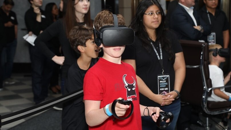 EXHIBIT NY PaleyGX VR Kids Gaming