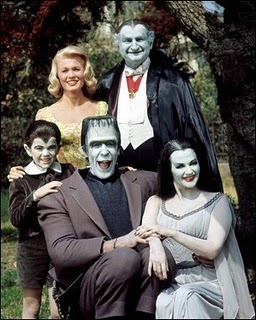 the addamses vs the munsters the paley center for media. Black Bedroom Furniture Sets. Home Design Ideas