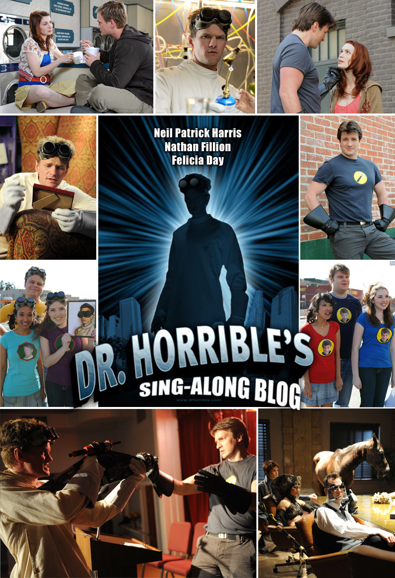 review of dr horrible Balagan theatre is currently presenting the stage version of the internet sensation dr horrible's sing-along blog written by joss whedon, jed whedon, zack whedon and maurissa tancharoen.